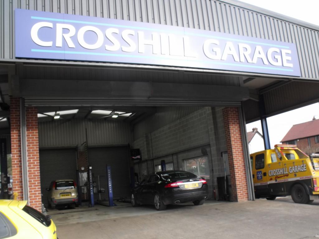 Crosshill Garage MOT Bays